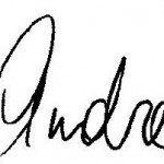 andrea signature