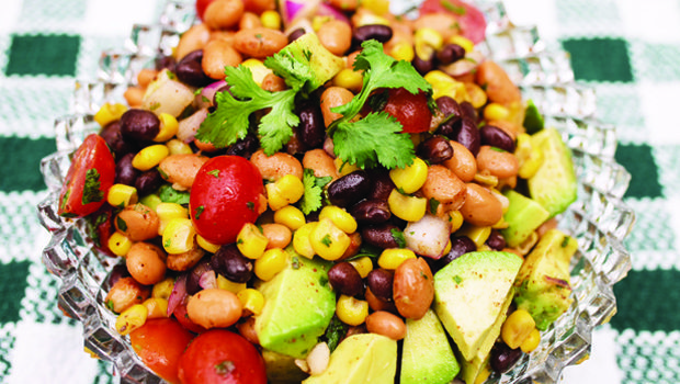 WEB-SW Bean Salad