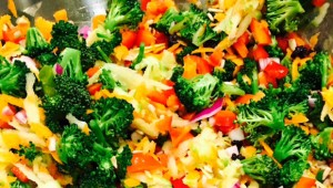 web-RECIPIES_LivingPlate_Broccoli Currant Salad_rgb