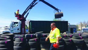 Tire Recycling Event in Wayne