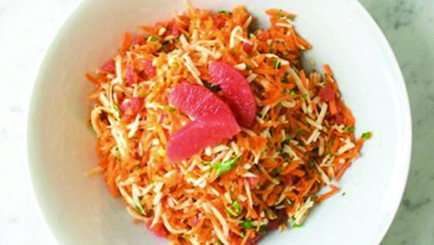 Recipe: Parsnip and Carrot Salad with Grapefruit