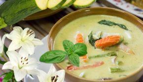 Daylily Zucchini Curry